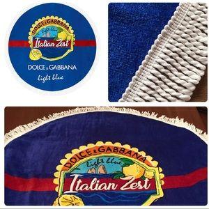 Dolce & Gabbana Light Blue Italian Zest Circle